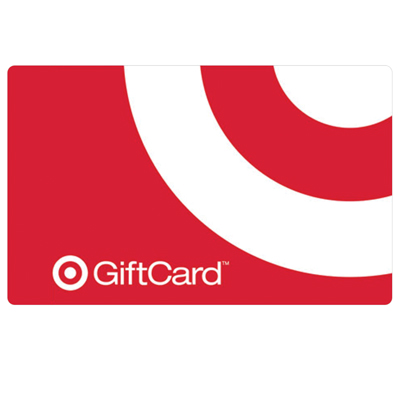 TARGET<sup>&reg;</sup> $25 Gift Card - From home décor, small appliances and electronics to fashion, accessories and music, find exactly what you're looking for at Target. No fees. No expiration. No kidding.<sup>&reg;</sup>